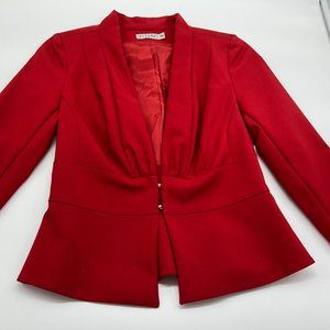 Vissavi Red Blazer 3/4 sleeves